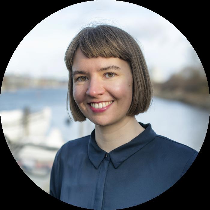 Nina Vindum Rasmussen in Sydhavnen